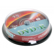 Диск DVD+R 9.4Gb 8х VS, Dual Sided,